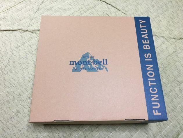 モンベル ブーツの箱