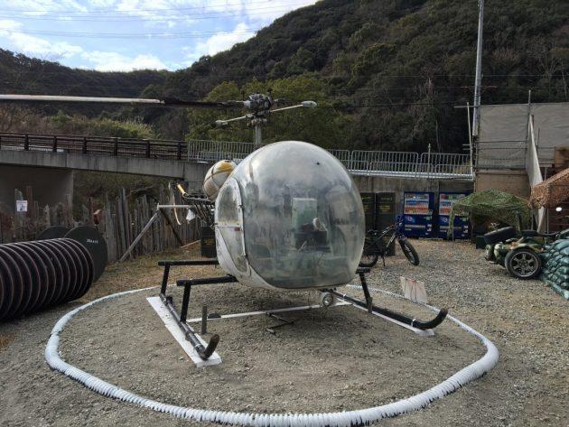 2019-01-27 みさきサバゲのヘリコプター
