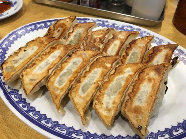 2018-07-28 彩華ラーメンの焼餃子