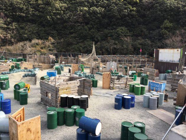 2019-01-27 みさきサバゲ骸骨エリア