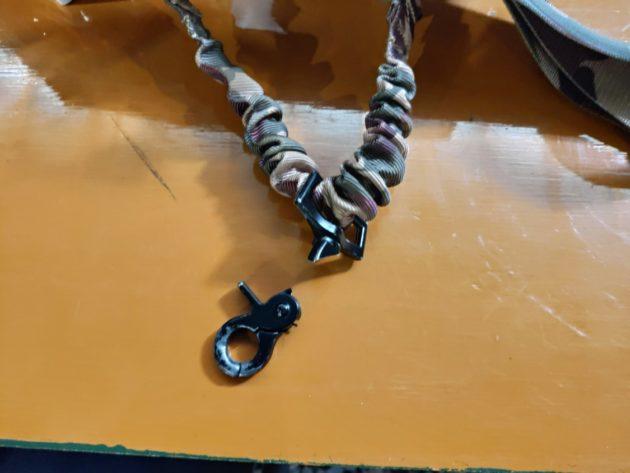 みさきサバゲで壊れたスリング